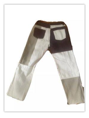 SheIn Spodnie z pięcioma kieszeniami Wielokolorowy