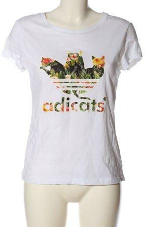 SheIn Print-Shirt Motivdruck Casual-Look