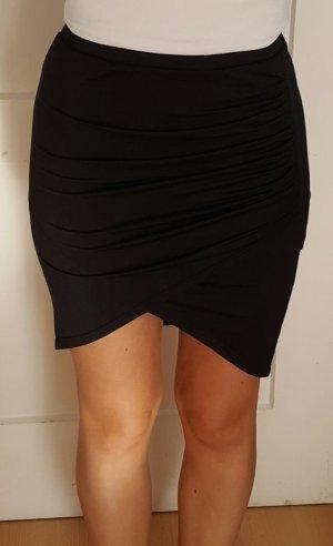 SheIn Wraparound Skirt black