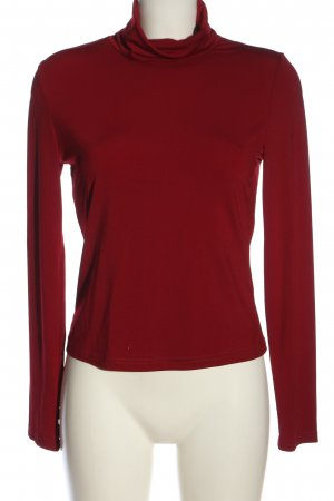 SheIn Turtleneck Shirt red casual look