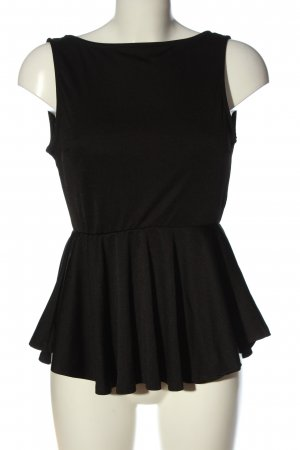 SheIn Backless Top black casual look