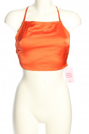 SheIn Backless Top light orange casual look