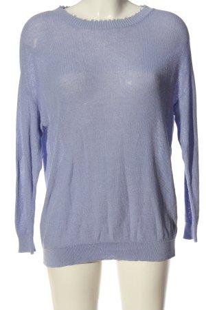 SheIn Crewneck Sweater blue casual look