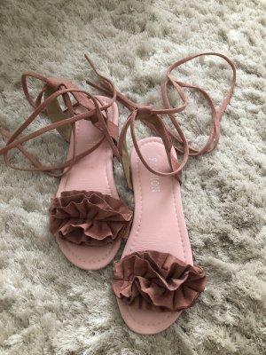 SheIn Romeinse sandalen roze