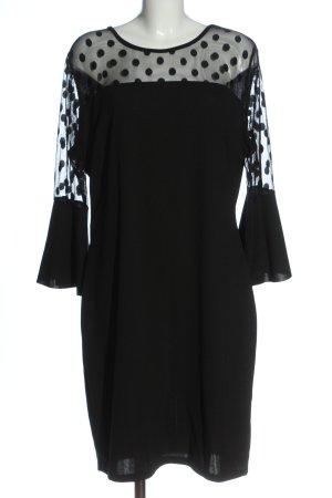 SheIn Robe tube noir motif de tache style décontracté