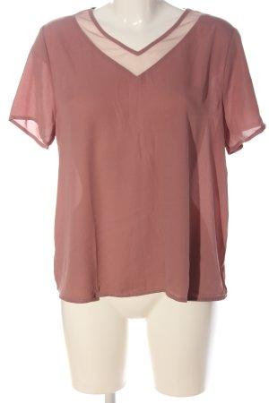 SheIn Schlupf-Bluse pink Casual-Look