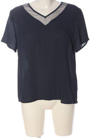 SheIn Schlupf-Bluse blau Casual-Look