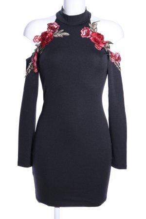SheIn schulterfreies Kleid schwarz Party-Look