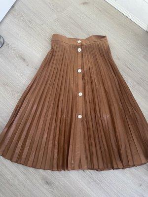 Shein sheinside Rock midi High waist braun 34 xs