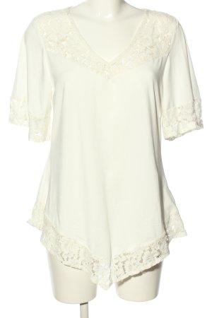 SheIn Camicia a tunica bianco stile casual