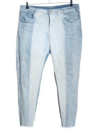 SheIn Vaquero skinny azul look casual