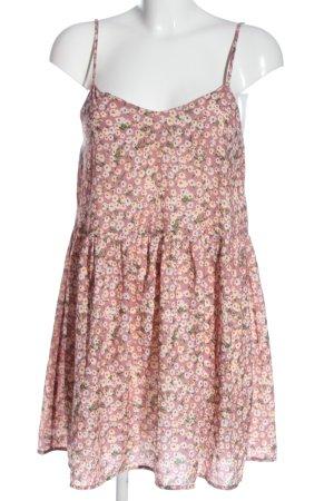 SheIn Sommerkleid pink-weiß Allover-Druck Casual-Look