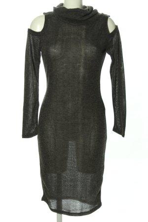 SheIn Strickkleid schwarz Elegant