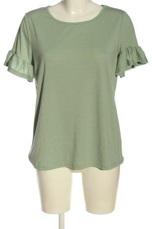 SheIn Strickshirt grün Casual-Look