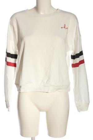 SheIn Sweatshirt Streifenmuster Casual-Look