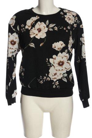 SheIn Sweatshirt Blumenmuster Casual-Look