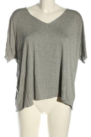 SheIn T-Shirt hellgrau meliert Casual-Look
