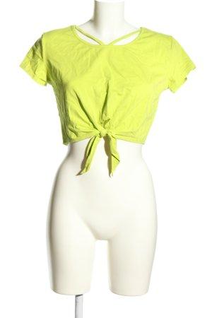 SheIn T-Shirt grün Casual-Look