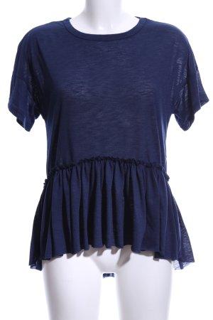 SheIn T-Shirt dunkelblau Casual-Look
