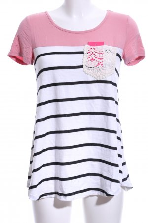 SheIn T-Shirt striped pattern casual look