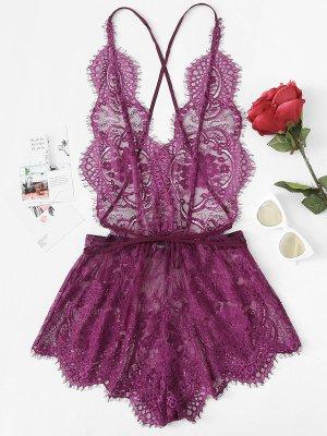 SheIn Ensemble de lingerie violet