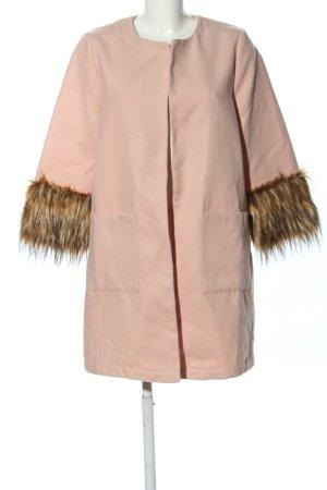 SheIn Übergangsmantel pink Casual-Look