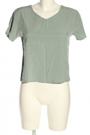 SheIn V-Neck Shirt khaki casual look
