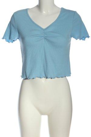 SheIn V-Neck Shirt blue casual look