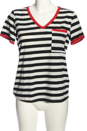 SheIn V-Neck Shirt allover print casual look