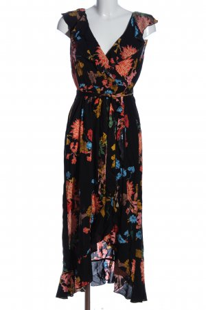 SheIn High Low Dress allover print casual look