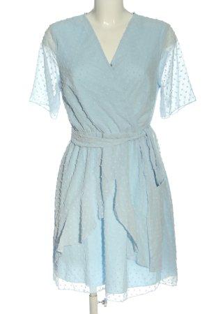 SheIn Sukienka z falbanami niebieski W stylu casual