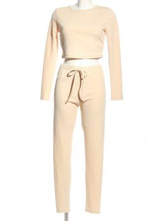 SheIn Woven Twin Set cream elegant