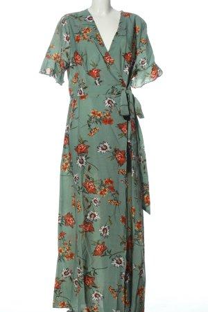 SheIn Robe portefeuille motif de fleur style décontracté