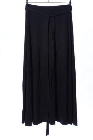 SheIn Wraparound Skirt black casual look