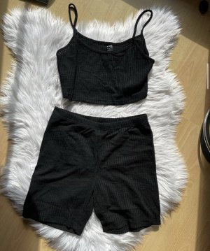 SheIn Twin Set tipo suéter black