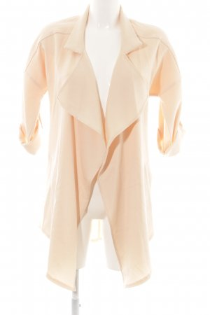 Sheinside Cardigan creme Business-Look