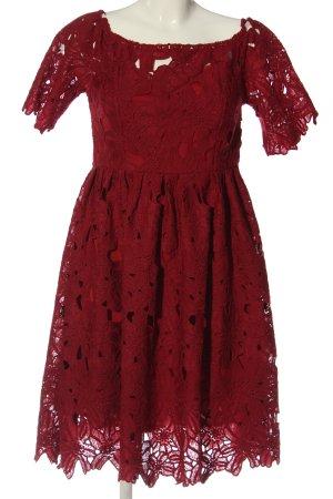 sheln A-Linien Kleid rot Elegant