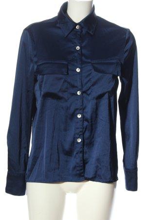 sheln Langarmhemd blau Elegant