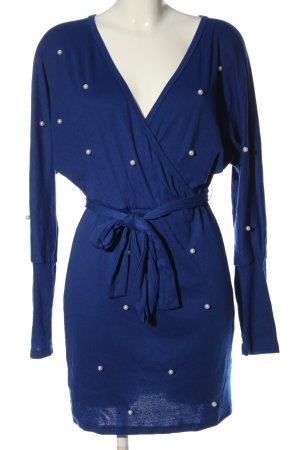 sheln Langarmkleid blau Casual-Look