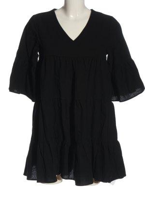 sheln Langarmkleid schwarz Elegant