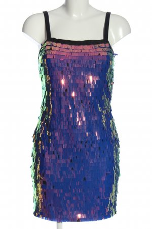 sheln Minikleid schwarz-blau Farbverlauf Elegant