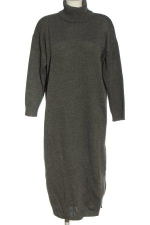 sheln Swetrowa sukienka jasnoszary W stylu casual