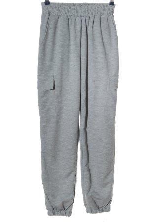 sheln Pantalón deportivo gris claro moteado look casual