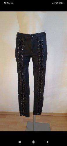 Shelnside Pantalón elástico negro