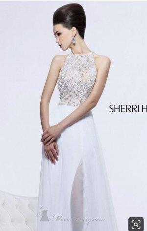 Sherri Hill Vestido de baile blanco