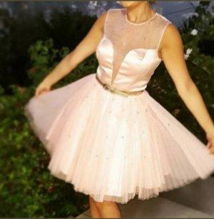 Sherri Hill Sukienka typu babydoll biały