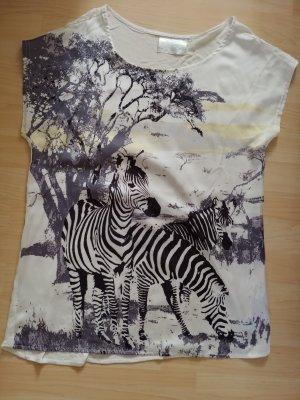 Aldo Print Shirt white