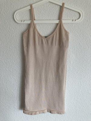 *Shimmer* Shape Träger-Top, rosé/apricot, Gr. S/M