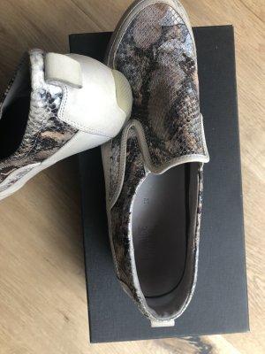 Shimmering Slip on Sneaker