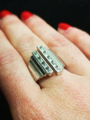 Shining Revolution Ring Silber